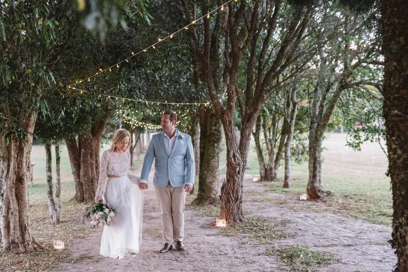 Wedding couple Sunshine Coast