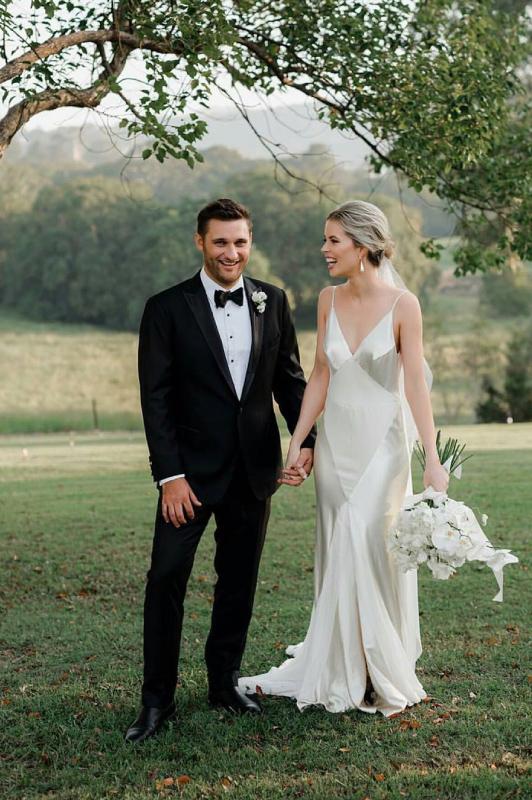Sunshine Coast Hinterland wedding couple